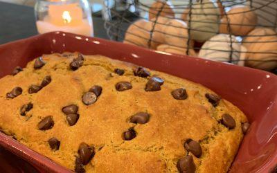 Sourdough Pumpkin Chocolate-Chip Bread